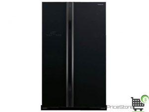 سعر ثلاجة هيتاشي 21 قدم بابين اسود موديل R-S800PS2-GBK