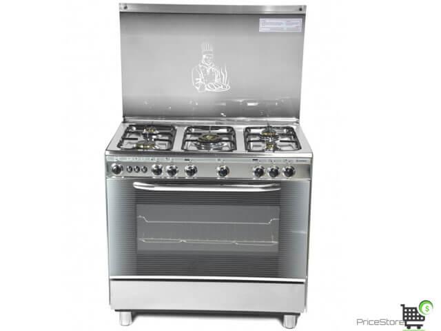 سعر بوتاجاز تكنو جاز 5 شعلة موديل الشيف Chef