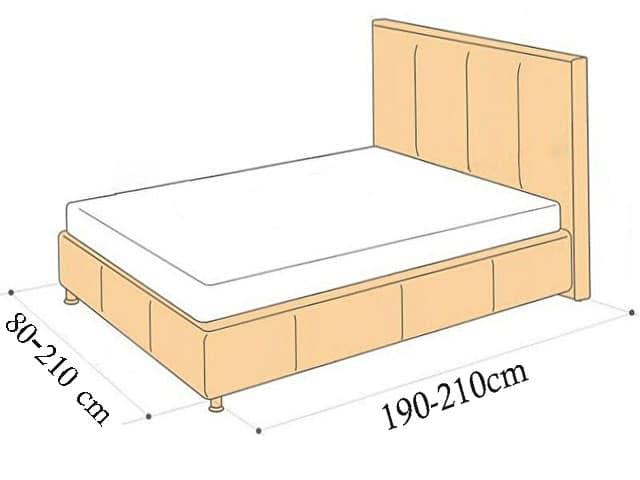 مقاسات مراتب السرير القياسية